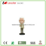 Polyresin personalizou o Figurine de Bobblehead para o presente da promoção e Decoraiton Home
