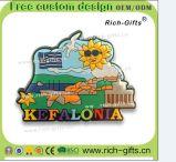 Ricordo promozionale personalizzato Santorini (RC-GR) dei magneti del frigorifero del silicone dei regali