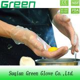 Polvo seguro disponible claro o coloreado de los guantes del vinilo del alimento libre