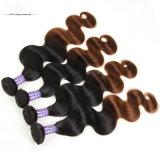 卸し売り8A品質のバージンのブラジルの人間の毛髪は未加工毛を束ねる