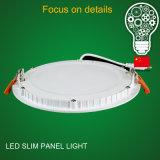 Lumens élevés 225*225 18W de Saso/BRI enfoncés autour de l'éclairage LED de panneau