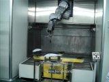 Pianta automatica della verniciatura a spruzzo del robot di chiave in mano per le lampade automatiche