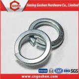 탄소 강철 아연 도금된 봄 세탁기 DIN127