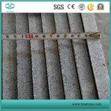 China Grey Granite / Pandang Dark / Seasame Black / G654 Pedra de granito para azulejos / laje / Cubestone / Kerbstone