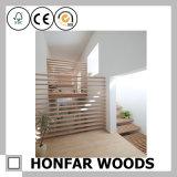 Écran en bois de frontière de sécurité de jardin pour des meubles d'hôtel