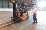 9-80V van de LEIDENE van de vorkheftruck Licht van de Waarschuwing Streek van de Laser het Rode voor Vrachtwagens