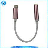 Adaptador do cabo do fone de ouvido/auscultadores para o sinal de adição do iPhone 7&7 de Apple para a relação do relâmpago/Ios ao cabo audio auxiliar de Jack da fêmea de 3.5mm