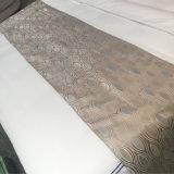 100%年の綿の明白で白い高級ホテルの寝具セット