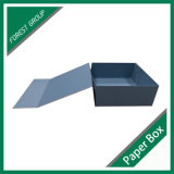 Vente en gros magnétique pliable sensible de boîte-cadeau de papier de fermeture de modèle d'OEM
