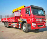 Camión con grúa, 10-12 toneladas camión grúa, camión de la grúa