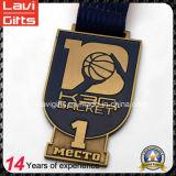 バスケットボールのイベントのための最も新しいカスタマイズされた金属メダル