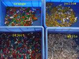 El plástico de alta resolución de la cámara recicla la máquina del compaginador del color