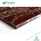 Tabelas de jantar superiores de pedra, painel de mármore do favo de mel para a tabela