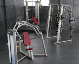 aptitud, lifefitness, máquina de la fuerza del martillo, Pulley-DF-8017 ajustable dual