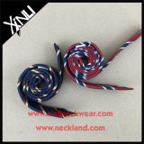Legame scarno tessuto miscela di tela di seta Handmade di 100% per gli uomini