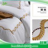 ロッジのための耐久のサテンのキルトの寝具セット