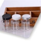 120ml de transparante Hoogwaardige Plastic Kruik van Schoonheidsmiddelen (NJ0704)