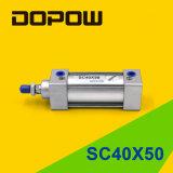 Cilindro Pneumático Padrão Cilindro Dopow Sc40X50