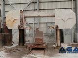 CNC 절단기 돌 또는 화강암 구획 다이아몬드 철사는 기계를 보았다
