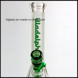 Новая Hfy стеклянная Sandblasted 10 дюймов трубы стекла основания Beaker труб водопровода матированного стекла Illadelph толщины 7mm куря