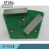 Diamond Trapecio de molienda placas Pad para terrazo, concreto