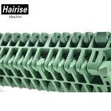 Hairise embalaje Línea rodillo transportador de correa superior modular