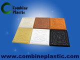 Plateau en mousse de PVC solide comme plafond en PVC