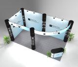 Modèle moderne de cabine d'exposition du commerce d'aluminium de Stander de mode