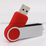 Movimentação plástica do flash do USB do giro (UL-P025-02)