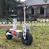 """Para possuir o """"trotinette"""" elétrico Foldable off-Road 1600W da mobilidade do projeto novo da patente"""