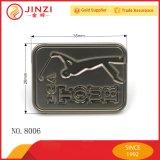 Étiquette de logo en métal de Customed pour le sac à main avec le Diriger-Prix d'usine
