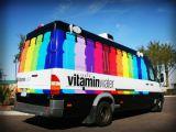Изготовленный на заказ полный цвет напечатал стикер обернутый графиком для автомобиля Van и флота