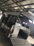 Venda quente da versão de luxe do flutuador do reboque de 2 cavalos/cavalo em Austrália