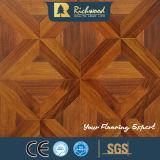 assoalho de madeira estratificado resistente gravado HDF da água do carvalho de 8.3mm