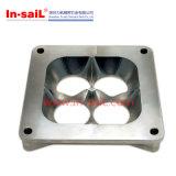 Aluminium CNC-maschinell bearbeitensitzringe mit Flansch
