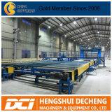 Tipo caliente instalación de producción de la cadena de Alemania de la venta de producción de la tarjeta de yeso/de la tarjeta de yeso para la construcción