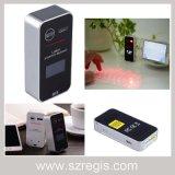 Mini drahtlose Bluetooth Laser-Projektions-Tastatur-Energien-Bank-Computer-Tastatur