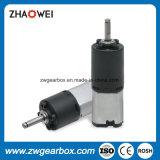 motor del engranaje de gusano de la C.C. del voltaje del grado 6V con la caja de engranajes plástica