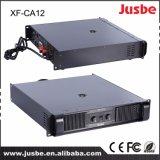 Classe H de Jusbe Xf-Ca12 800-1200 watts de amplificador profissional audio do altifalante do DJ da potência grande para o sistema de som do PA