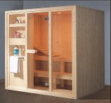 sauna da madeira contínua do retângulo de 1900mm (AT-8608)