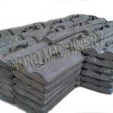 Moulage à billes en acier inoxydable haute qualité Mn / Cr
