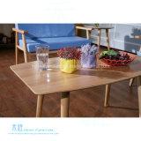 レストランの喫茶店(HW-BT05T)のための方法純木のダイニングテーブル
