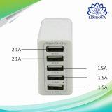 5V 6A 8aquick Ladung 3.0 Arbeitsweg-schnelle Aufladeeinheits-Universalaufladeeinheit USB-5-Port für Samsung-Galaxie S7/S6/Edge, Fahrwerk, Xiaomi, iPhone u. mehr