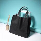女性のCombos PU革デザイナーハンドバッグ(0310)