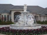 Muffe calde della statua del giardino, scultura del giardino di prezzi della statua di marmo
