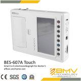 Seis máquina da canaleta ECG com CE (toque de BES-607A)