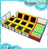 Trampoline спортивной площадки Playgroundr высокого качества крытый мягкий для малышей