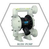 Bomba de diafragma pneumática plástica do Rd 25