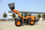 Insigne d'approvisionnement d'usine modèle Yx667 de chargeur de roue de 6 tonnes avec le manche, la position de climatiseur et de m3 3.5