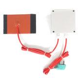 Calefator flexível do silicone para o equipamento médico com Velcro